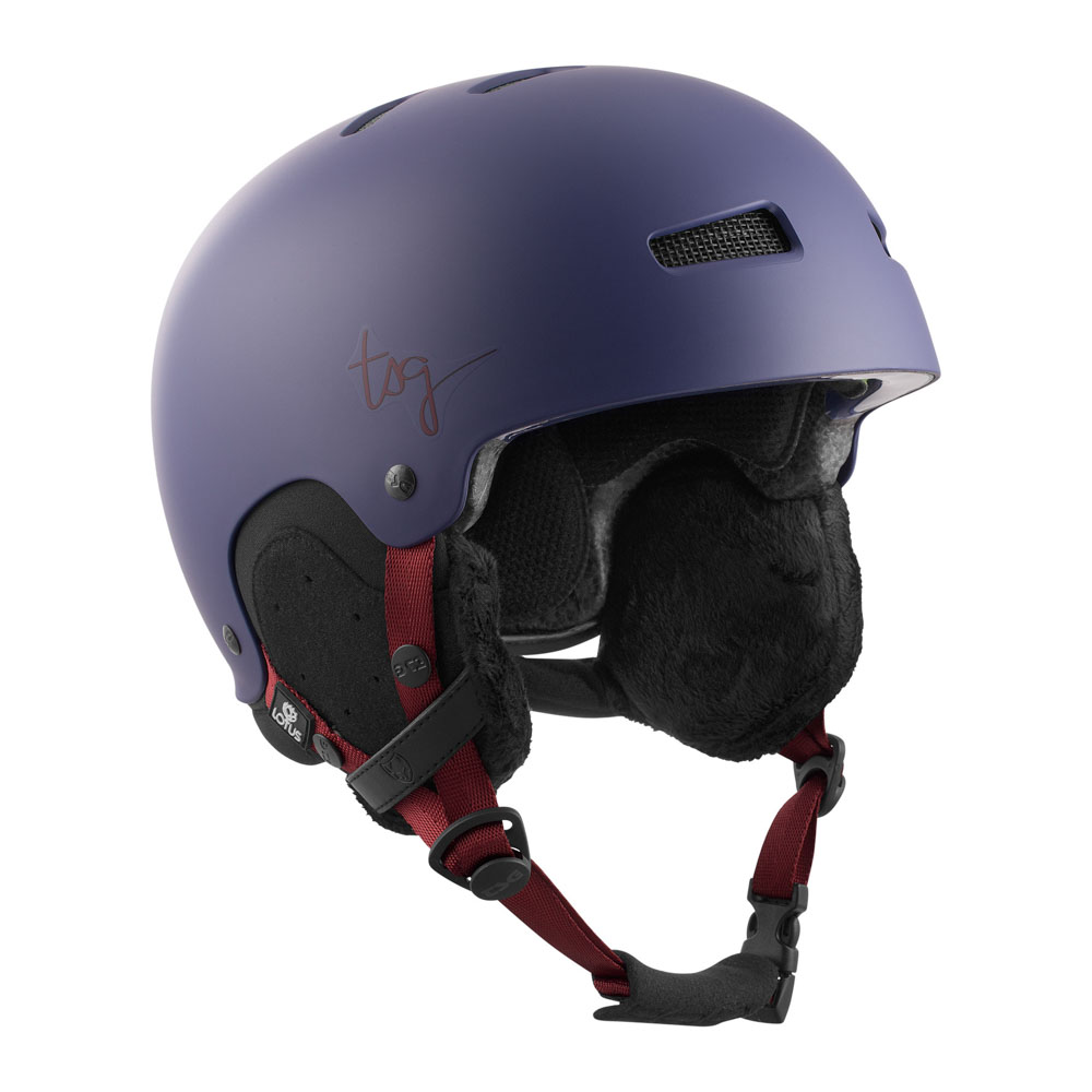 TSG Lotus Solid Color Satin Malve Women's Helmet