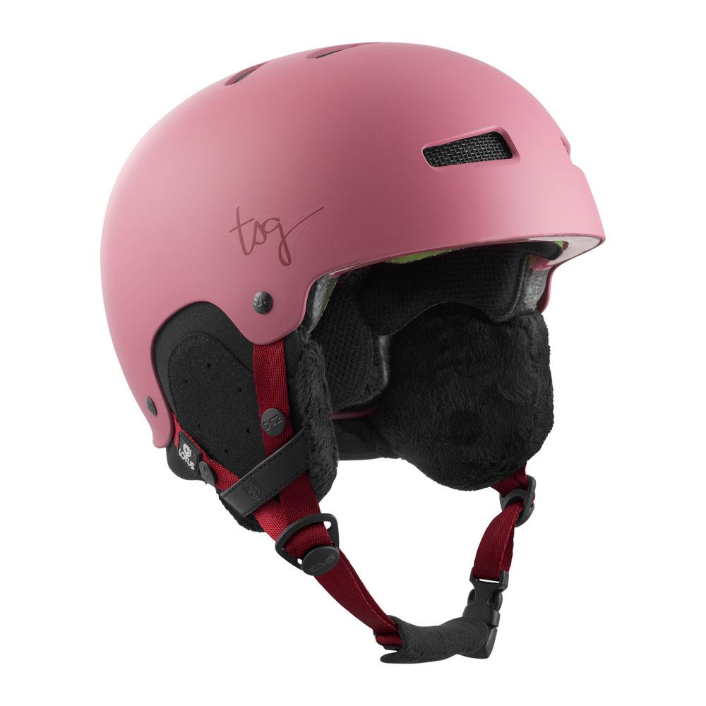 TSG Lotus Solid Color Satin Sakura Helmet