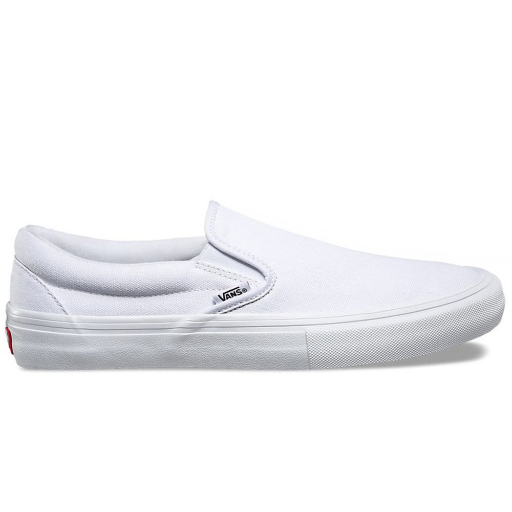 VANS SLIP-ON PRO WHITE WHITE ΠΑΠΟΥΤΣΙΑ