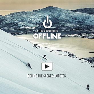 NITRO OFFLINE Behind the scenes in Lofoten