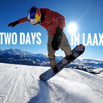 Marcus Kleveland - Two days in Laax