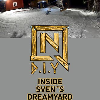 Inside Sven´s Dream Backyard Park | NITRO DIY PARKS with Sven Thorgren