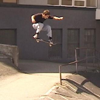 Notis Aggelis in Lover Skateboards - Museum Of Love